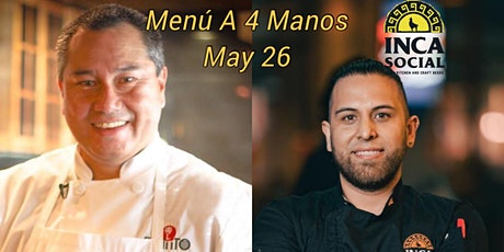4 Manos -Peruvian Asian cuisine- featuring Robert Arakaki tickets