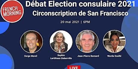 Débat élection consulaire de San Francisco tickets