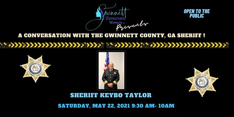 A Conversation with the Gwinnett County, GA Sheriff! tickets