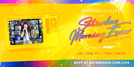 Daybreaker LIVE // Saturday Morning Fever: A Disco Dance Tickets