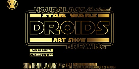 Star Wars DROIDS Art Show at Hourglass Brewing tickets