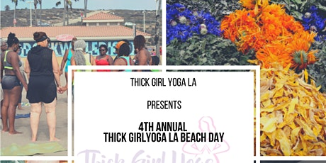 4th  Annual Thick Girl Yoga LA Beach Party 2020 tickets