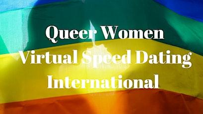Queer Women Virtual Speed Dating International tickets