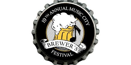 2021 Music City Brewer's Fest tickets