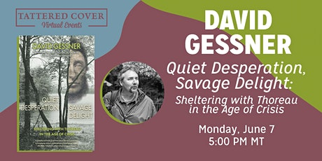 Live Stream with David Gessner tickets