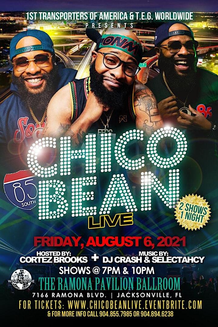 CHICO BEAN LIVE!!! image