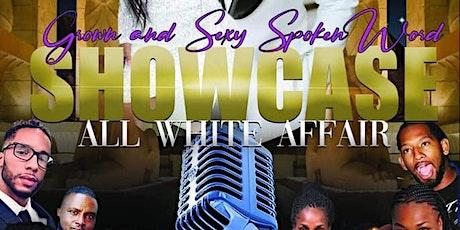 THE SHOWCASE...an all white affair. tickets