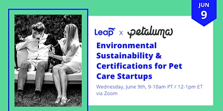 Environmental Sustainability & Certifications for Pet Care Startups tickets
