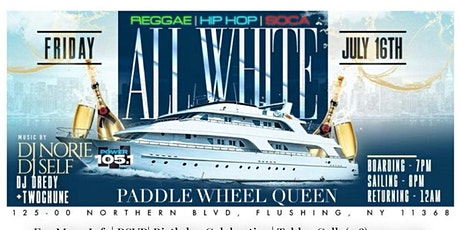REGGAE-HIP HOP-SOCA ALL WHITE BOAT RIDE tickets
