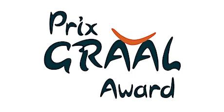 Remise du prix GRAAL 2021 GRAAL Awards Ceremony billets