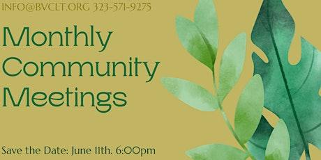 BVCLT June Community Meeting | Reunión Comunitaria De Junio BVCLt biglietti