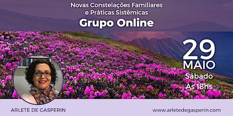 Constelação em Grupo e Práticas Sistêmicas Online (Sábado às 18h) ingressos