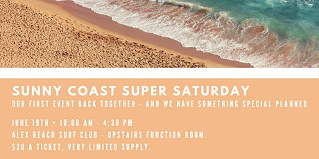 Sunny Coast Super Saturday tickets