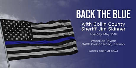 Back the Blue with Sheriff Skinner tickets