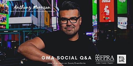 FPRA Lake presents 'GMA Social Q&A' with Anthony Morrison tickets