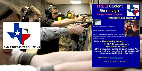 FREE! Student Shoot Night! tickets