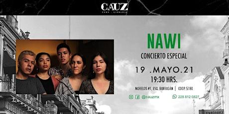 NAWI concierto especial entradas
