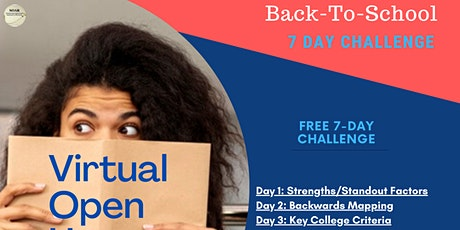 Student Virtual Open House-Back To School Challenge tickets