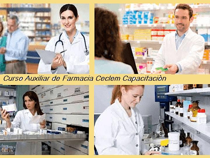 Imagen de Curso Auxiliar de Farmacia Profesional Beca 50% Oficial