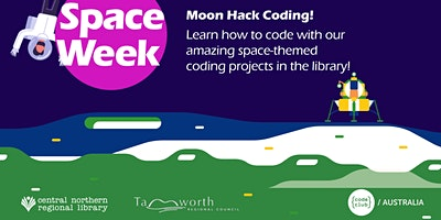 FREE! Moon Hack Coding – Ages 8+