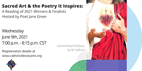 Sacred Art & the Poetry It Inspires: A Reading of 2021 Winners & Finalists tickets