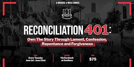 Reconciliation 401 tickets