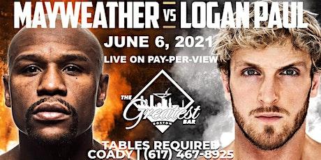 MAYWEATHER vs. PAUL @ The Greatest Bar tickets