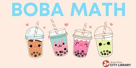 ONLINE Boba Math (For Grades K-2) tickets