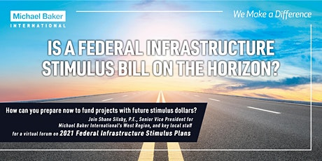 2021 Federal Infrastructure Stimulus: What O.C. Agency Leaders Need to Know tickets