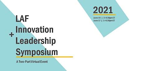 2021 LAF Innovation + Leadership Symposium tickets