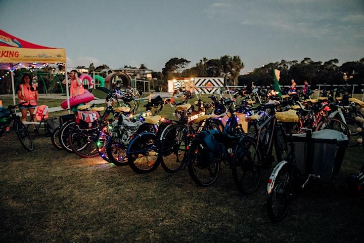 NEW DATE: Bike Rave feat. King Kapisi: Southern Bike Path Edition image