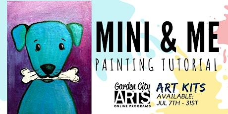 Mini & Me - Tutorial & Art Kits (July 2021) tickets