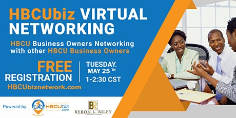 HBCU Biz Networks  - Virtual Networking Event tickets