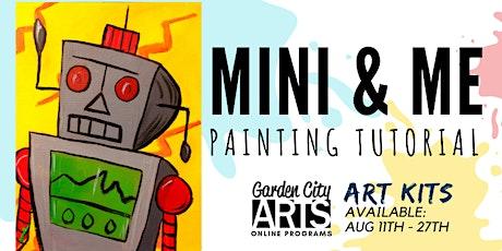 Mini & Me - Tutorial & Art Kits (August 2021) tickets