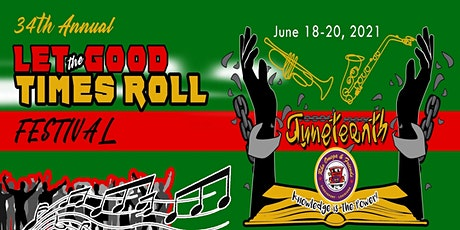 The 34th Annual Let The Good Times Roll Festival tickets