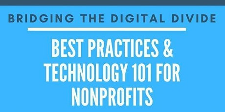 Online Workshop: Best Practices & Technology 101 for Nonprofits tickets