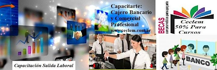 Imagen de Curso Cajero Bancario Y Comercial Profesional + Tesoreria Oficial Beca