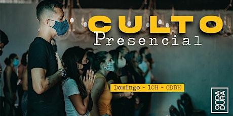 Culto Presencial - Domingo tickets