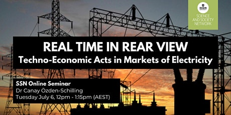 SSN Seminar: 'Real Time in Rear View' with Dr Canay Özden-Schilling tickets