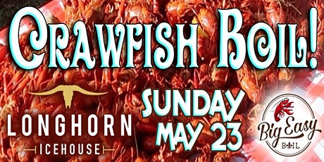 Crawfish Boil on the Patio with Big Easy Boil at Longhorn Icehouse! tickets