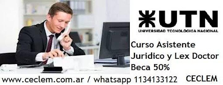Imagen de Curso de Asistente Jurídico Notarial + Lex Doctor + Office Oficial Beca