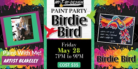 Paint with Me Series! Featuring Artist Blakeley tickets