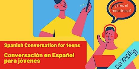CLASE DE CONVERSACIÓN  EN ESPAÑOL (10-13 años)- ¿ Quién es el mentiroso? boletos