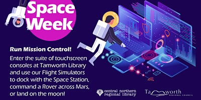 FREE! Space Week Mission Control – All Ages