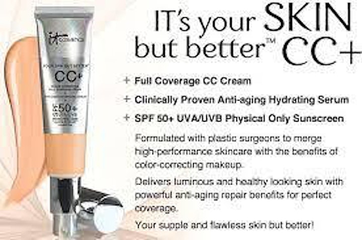 """IT Cosmetics-""""Summer Complexion Must Have's"""" Virtual Class image"""