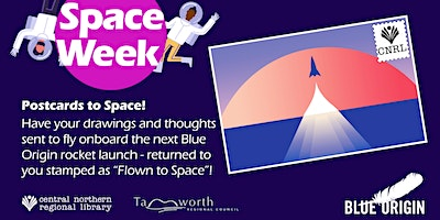 FREE! Send a Postcard into Space! All ages