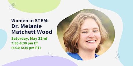 Women in STEM Series: A Conversation with Dr. Melanie Matchett Wood tickets