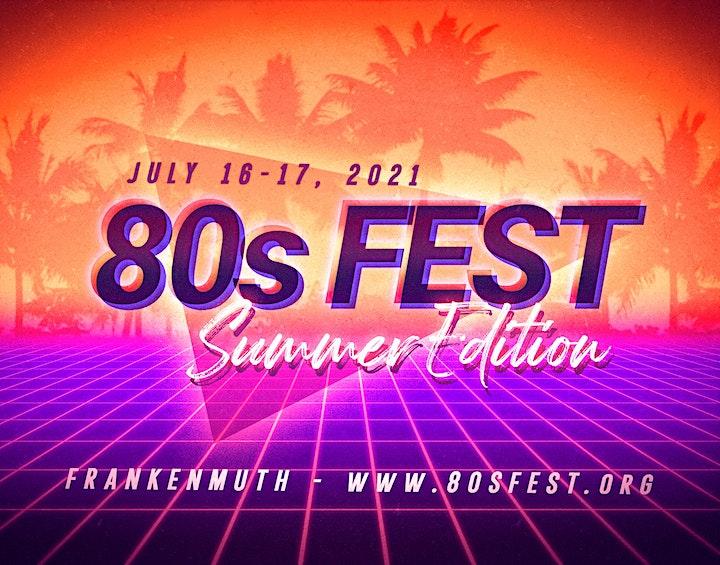 Bringin' Back the 80s Festival- SUMMER EDITION image