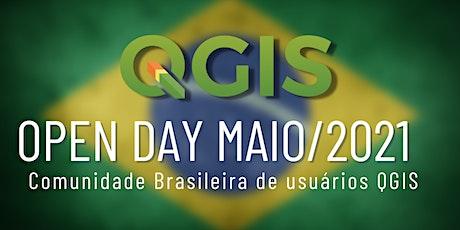 QGIS Open Day Maio/2021 ingressos
