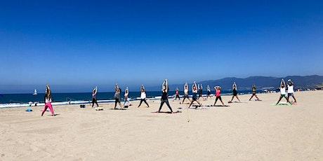 Beach Yoga on Santa Monica Beach tickets